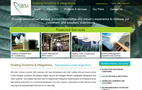 UI Design & Web Development for BSI limited, KSA